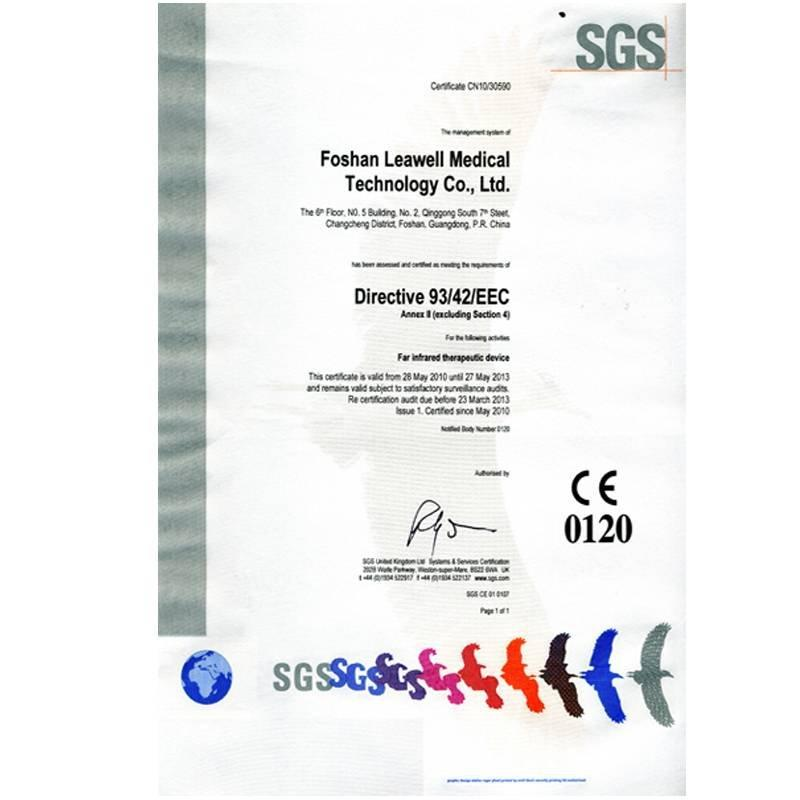 Leawell medical equipment European CE certificate